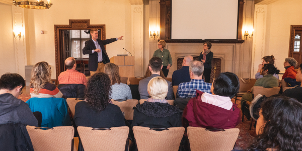 Environmental Studies Across the Arts and Sciences: Reflecting on a Presentation by Professor Susan Scott Parrish and Dean Barbara Schaal